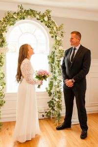 small chapel wedding in quincy ma